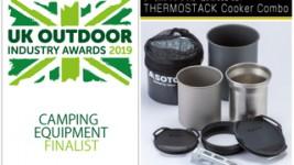 「サーモスタッククッカーコンボ」が英国のアウトドア展示会で2019 Awards Finalist賞を受賞。